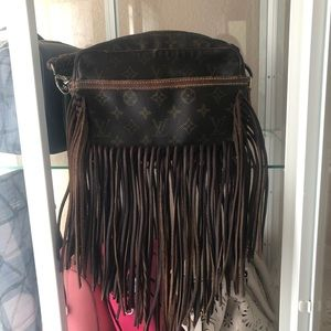 Vintage Boho Bag LV Louis Vuitton